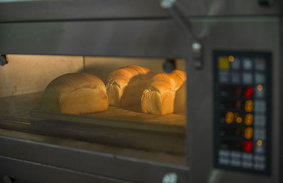 German loaves baking